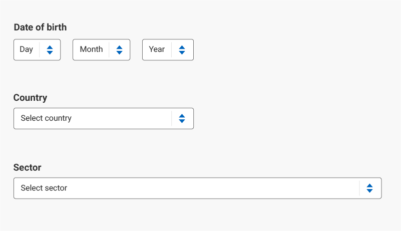 forms_dropdown example